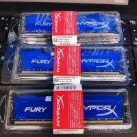 RAM KINGSTON HYPER X FURY GAMING LONGDIMM DDR3 8GB (8GB*1) PC 12800
