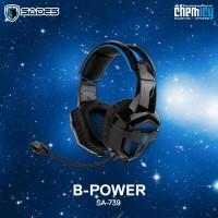 Sades SA-739 B-Power Y Cable Splitter