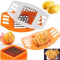 Pemotong Kentang Pisau/Potato Cutter Slicer Chopper French Fries