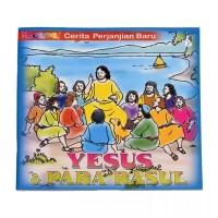 Buku Rohani Anak Mewarnai - Yesus Dan Para Rasul - Buku Anak - cerita