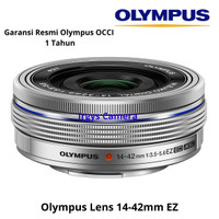 Olympus Lens 14-42mm EZ Silver F3.5-5.6 M.Zuiko Digital ED (Open Box)