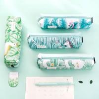 Green World Leather Pencil Case Tube / Tempat Pensil / Alat Tulis