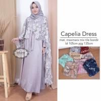 dress cape laris CAPELIA DRESS