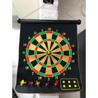 DART GAME MAGNET / MAGNETIC DART GAME 15inch PAPAN DART