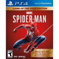 PS4 Marvel Spiderman Game Of The Year REG 3 / Marvel Spiderman GOTY