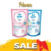My Baby Fabric Softener Plus Ironing Soft Gentle Sweet Floral 700ml