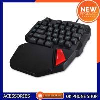 Single Keyboard Gaming Mechanical - RGB 38 Keys Untuk Smartphone Hp