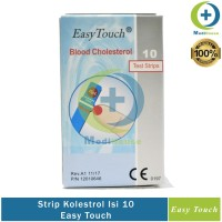 Strip Easy Touch Kolestrol EasyTouch Cholestrol