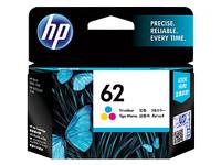 Tinta HP 62 Colour Original , tinta printer HP ori