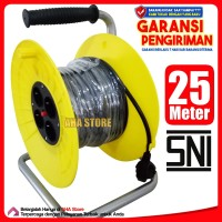 Nexus Kabel Roll 25 Meter 4 Stop Kontak Box-130
