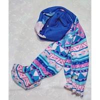 Sale pasmina motif batik berkualitas cantik