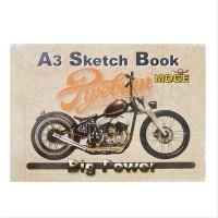 Buku Gambar Sketch Book Kiky A3 50 Lembar