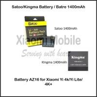 Battery Replacement 1400mAh for Xiaomi Yi 2 4K YiLite 4K
