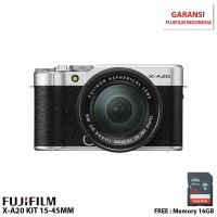 Fujifilm X-A20 Kit 15-45mm Silver