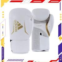 RDS Sarung Tinju Adidas Speed 100 Boxing Glove NEW -White Gold- ADISBG