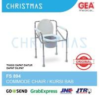 Commode Chair / Kursi Buang Air Besar BAB GEA FS 894