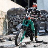 new misb shodo x kamen rider black + battlehopper bandai original