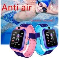 Jam Tangan Anak Smartwatch IP67 / Q12 Anti Air SOS + GPRS + Camera