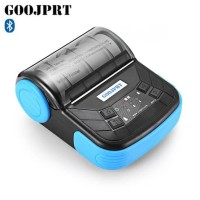 GOOJPRT Mini Portable Bluetooth Thermal Receipt Printer - MTP-3 Black