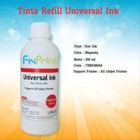 Paket Tinta Refill Universal Ink 250ml CMYK Tinta isi Ulang Printer HP