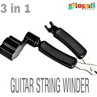 tool 3 in 1 gitar srings winder kualitas bagus pemutar pemotong senar