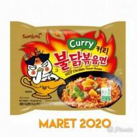 Ready Samyang Curry Logo Halal