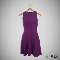 Korz Swing Dress - Purple