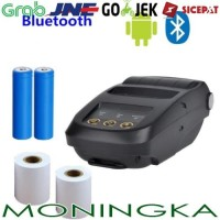 MM NYEAR Mini Portable Bluetooth Thermal Receipt Printer + Baterai 186
