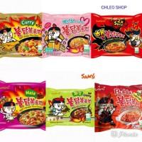 Paket 6 macam samyang curry carbo Buldak nuclaer mala jjajang