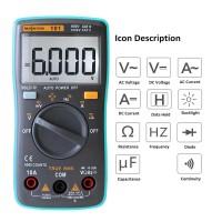 RICHMETERS Pocket Size Digital Multimeter AC/DC Voltage Tester -