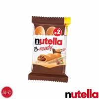 Ferrero Nutella Bready POUCH 2pcs x 22gram 01.11.19