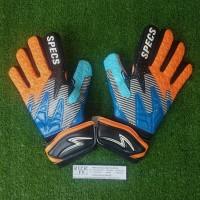 Specs Invader GK Gloves (Sarung Tangan Kiper) - Vermillion Red/Black