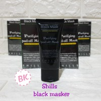SHILLS BLACK MASKER DEEF CLEANSING PURIFYING PEEL OF MASK HITAM SHILLS