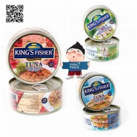 King's Fisher Tuna In Canned- Daging Tuna Kaleng 170g
