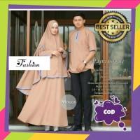 Baju Gamis Syari Muslim couple batik Termurah Dress Muslimah Terbaru
