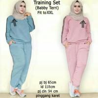 training adidas XL / stelan olahraga wanita / baju olahraga muslim
