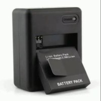 Batt yi cam. Battrey pack xiaomi yi cam gratis dekstop charging