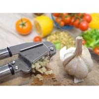 alat penghancur bawang stainless garlic press