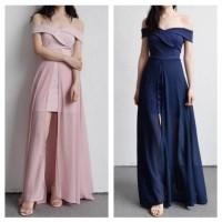 dress sabrina / dress pesta