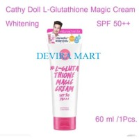 Cathy Doll L-Glutathione Magic Cream SPF50 Caty Dol Lglutathione Magik