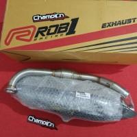 Exhaust Knalpot Standar Racing Stainless ROB1 Racing Yamaha NMAX