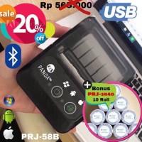 PRINTER KASIR/PPOB 58MM THERMAL ANDROID (USB+BLUETOOTH)