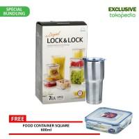 Lock&Lock Special Bundling Exclusive Gift Set 7P & Swing Tumbler 700ml