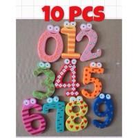 Magnet mainan edukatif anak bayi magnet kulkas angka numbers