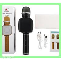YS-68 Mic Wireless Bluetooth Karaoke LED RGB Microphone Speaker KTV Q9