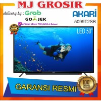 "PROMO LED TV AKARI 50"" 5099T2SB 50 INCH USB MOVIE HD HDMI DIGITAL"