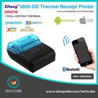 Zjiang 5805 DD Mini Portable Bluetooth Thermal Printer Alt ZJ 5802
