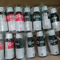 Lose Peck Tinta Botol Original HP GT51 Black Tinta Bottle GT 52 COLOR