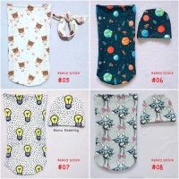 Cocoon Swaddle Bedong Instant Custom - Readystock Harga Promo