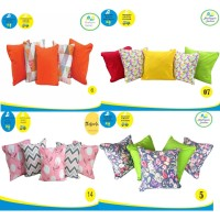 SET Sarung bantal sofa / cushion cover 50x50 EDISI II Shafiyyah.sarban
